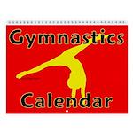 Gymnastics Wall Calendar
