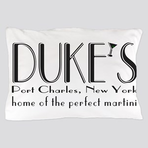 Black DUKE Martini Pillow Case