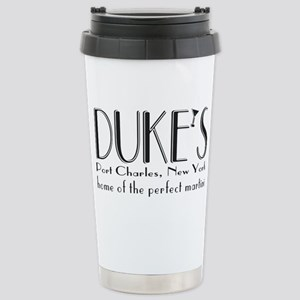 Black DUKE Martini Mugs