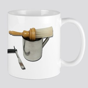 Straight Razor Mug Brush Mug