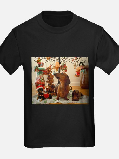 Christmas Dachshund (Ver2) T