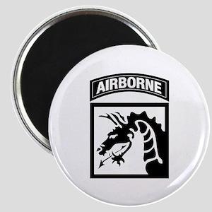 XVIII Airborne Corps B-W Magnet
