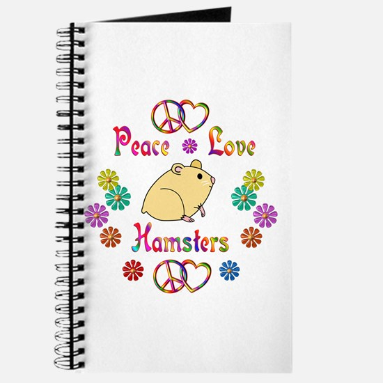 Peace Love Hamsters Journal