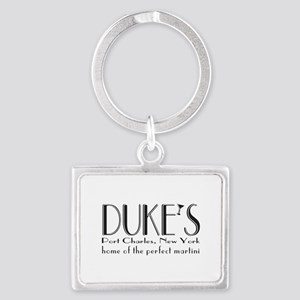 Black DUKE Martini Keychains