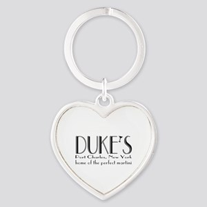 Black DUKE Martini Keychains