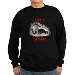 Little Stinker (Baby Skunk) Sweatshirt (dark)