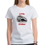 Little Stinker (Baby Skunk) Women's T-Shirt