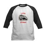 Little Stinker (Baby Skunk) Kids Baseball Jersey