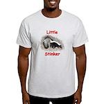 Little Stinker (Baby Skunk) Light T-Shirt