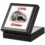 Little Stinker (Baby Skunk) Keepsake Box