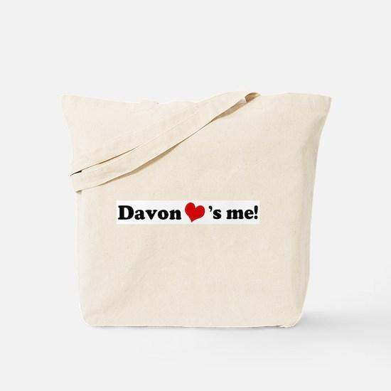 Davon loves me Tote Bag