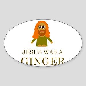 jesus-was-a-ginger Sticker