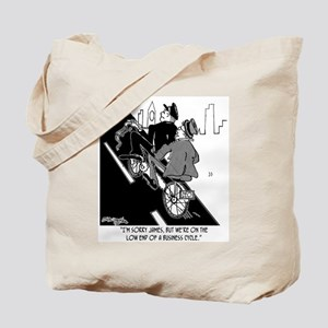 Low End of A Business Bicycle Tote Bag