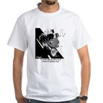 Low End of A Business Bicycle White T-Shirt