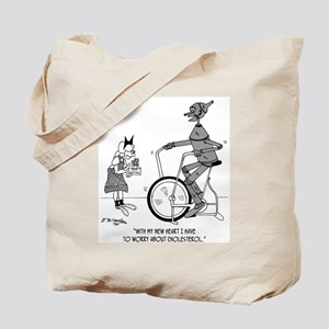 The Tin Man Worries About Cholesterol Tote Bag