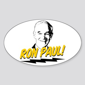 Ron Paul! Sticker (Oval)