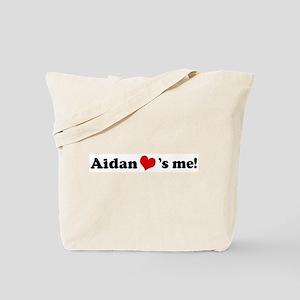 Aidan loves me Tote Bag