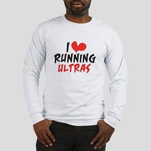 I heart Running Ultras Long Sleeve T-Shirt