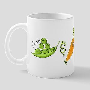 Peas and Carrot Mug