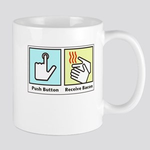 Push Button Receive Bacon Mug