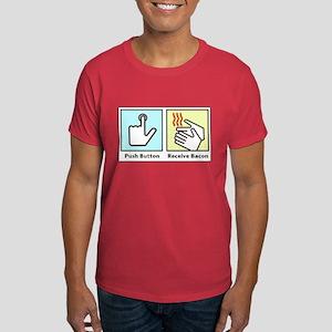 Push Button Receive Bacon Dark T-Shirt