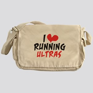 I heart Running Ultras Messenger Bag