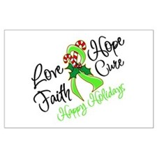 Holiday Hope Lymphoma Large Poster