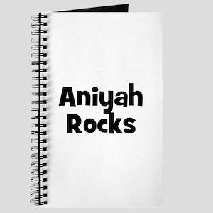 Aniyah Rocks Journal