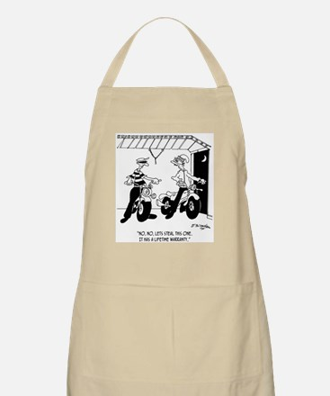 Steal Things With Lifetime Warranties Apron