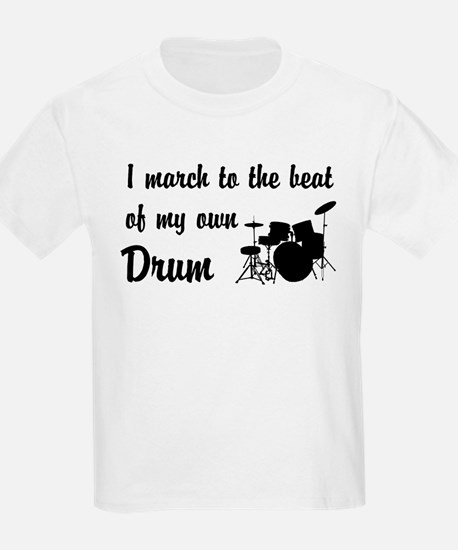 March to the Beat: Drum Kit T-Shirt