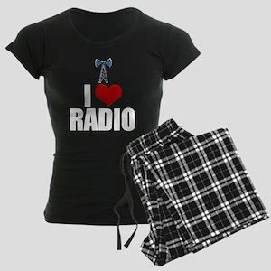 I Love Radio Women's Dark Pajamas