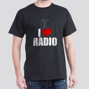 I Love Radio Dark T-Shirt