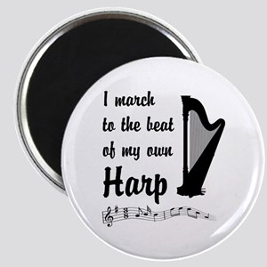 March to the Beat: Harp Magnet