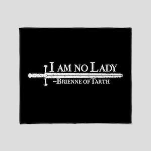 GOT Brienne I Am No Lady Throw Blanket