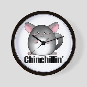 Chinchillin' Wall Clock