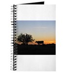 Cow At Sundown Journal