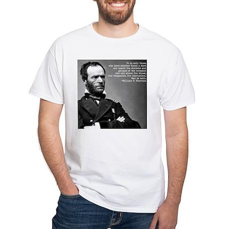 William Tecumseh Sherman White T-Shirt