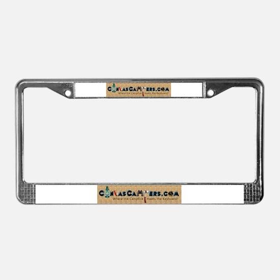 Cute Hybrid License Plate Frame