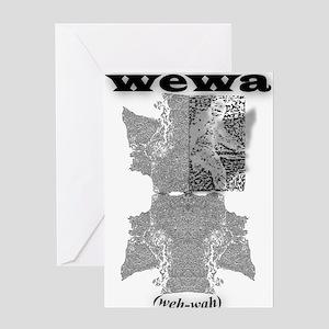 WEWA (wehwah) Greeting Card