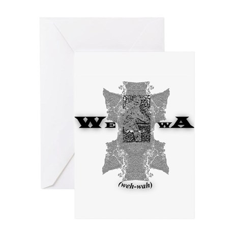 WEWA (wehwah) Greeting Card