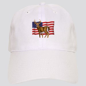 American White Tail Deer Buck Cap