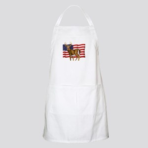 American White Tail Deer Buck Apron