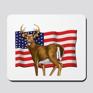 American White Tail Deer Buck Mousepad