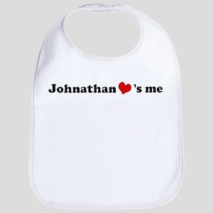 Johnathan loves me Bib