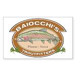 Baiocchi's Troutfitters sticker