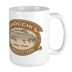 Baiocchi's Troutfitters Large Coffee Mug