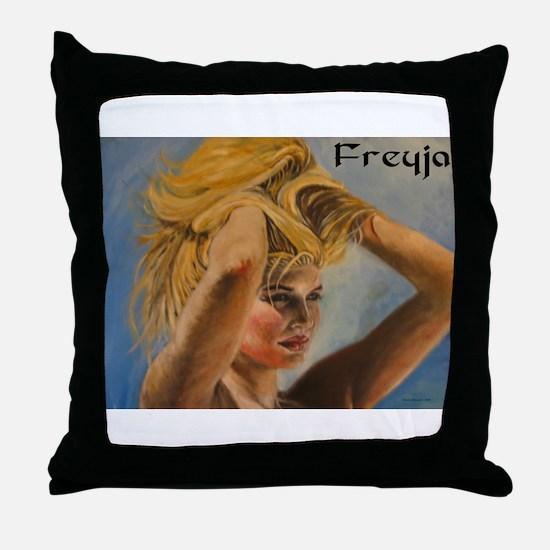 Freyja Throw Pillow