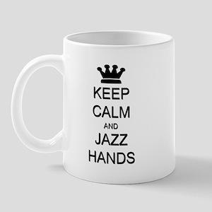 Keep Calm Jazz Hands Mug
