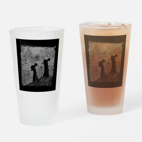 Death Metal Apostles Drinking Glass