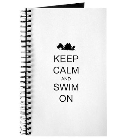 Keep Calm and Swim On Sea Monster Journal